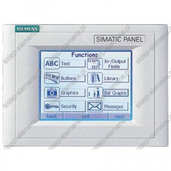SIMATIC TOUCH PANEL TP170A BLUE MODE STN-DISPLAY M