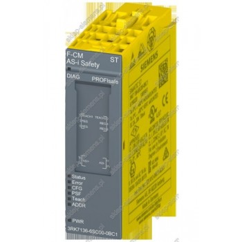 SIMATIC ET 200SP SAFETY COMMUNICATION MODULE F-CM