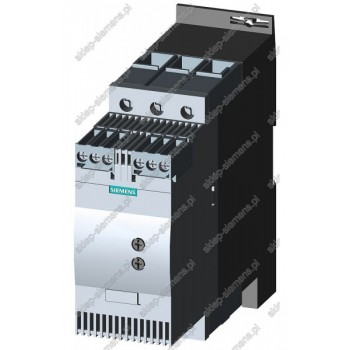 SIRIUS SOFTSTART, WLK. S2, 45A, 22KW/400V, 40 ST.,