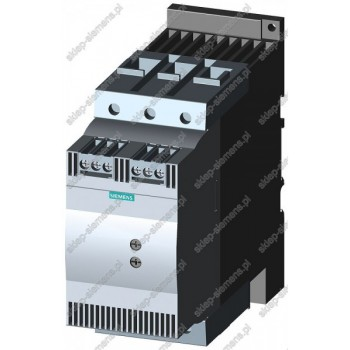 SIRIUS SOFTSTART, WLK. S3, 80A, 45KW/400V, 40 ST.,