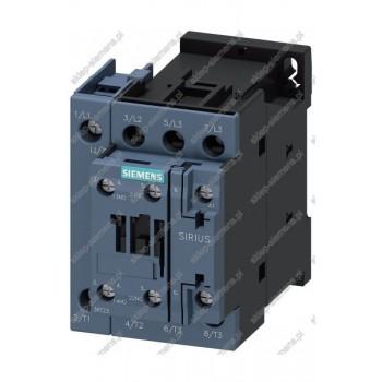 STYCZNIK, AC-1, 22KW/400V, AC-1 35A, 1S+1OE, AC 24