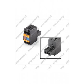 CONNECTOR, FEMALE, 2X2-PIN, 24 V DC FOR ET200S, IN
