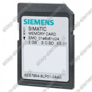 SIMATIC S7, MEMORY CARD FOR S7-1X00 CPU, 3,3 V FLA