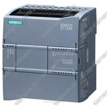 SIMATIC S7-1200, CPU 1212C DC/DC/PRZEKAŹNIK, 8 WEJ