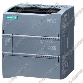 SIMATIC S7-1200, CPU 1211C AC/DC/PRZEKAŹNIK, 6 WEJ