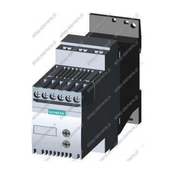 SIRIUS SOFT STARTER, SIZE S00, 3.6A, 1.5KW/400V, 4