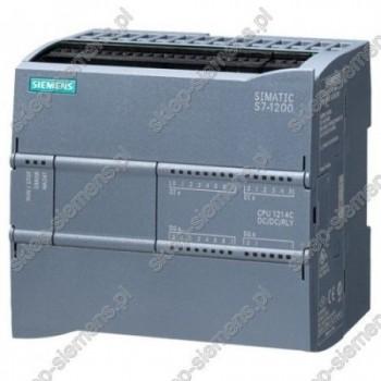 SIMATIC S7-1200, CPU 1214C DC/DC/PRZEKAŹNIK, 14 WE